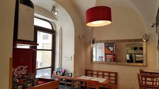 Bohemia Bagel Lazenska : Nice decoration