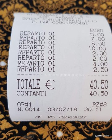 Magazzini, Italy: good value