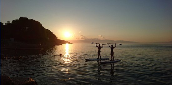 Malinska, Croatie : Stand up paddle Sunset Tour Krk