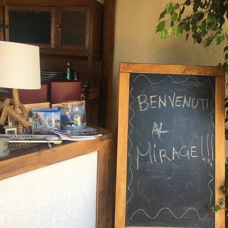 Ristorante Mirage: El Restaurante en julio