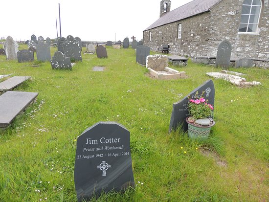 Llanfaelrhys, UK: Jim Cotter memorial