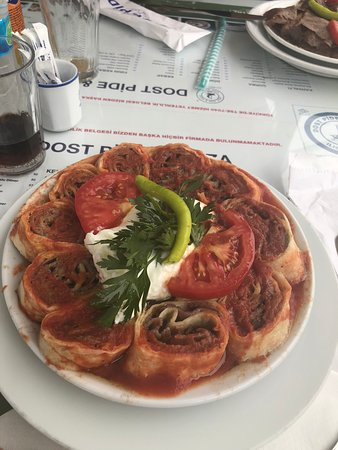 Photo1jpg Picture Of Dost Pide Pizza Cesme Tripadvisor