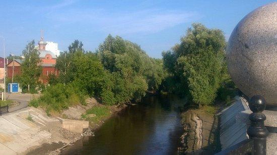 Barnaul, Rusko: Вид с моста