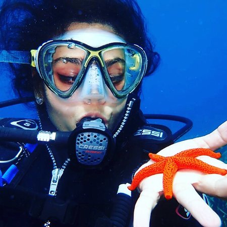 Scuba diving in the French Riviera!