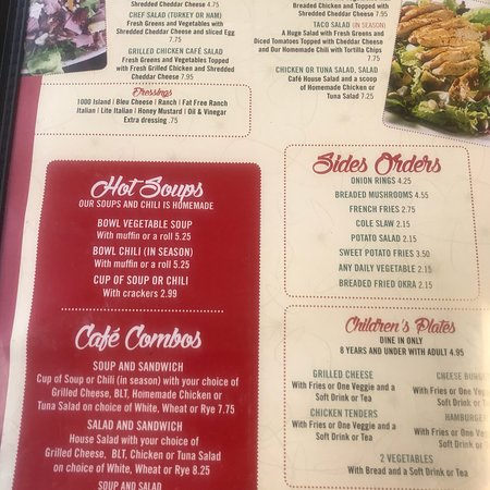 Nick S American Cafe Menu