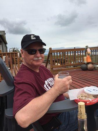 Oysterville, Вашингтон: Patio relaxation