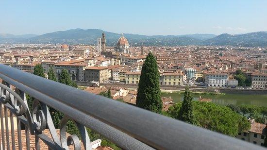 Villa Bardini - Veduta dalla terrazza panoramica - Foto di Villa ...