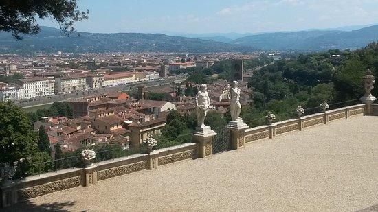 Giardino Bardini - Veduta panoramica dal Belvedere - Foto di Villa ...