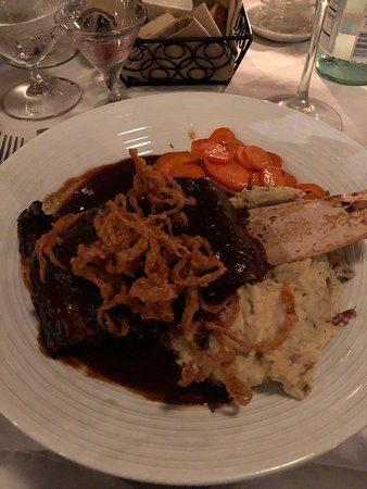 My fave, the short ribs