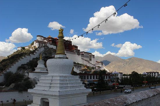Yaowang Mountain of Lhasa