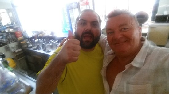 Ristorante Garibaldi: with one of the owners Lovely bloke