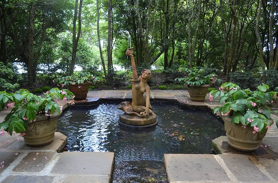 Bellingrath Gardens and Home: Mermaid Fountain