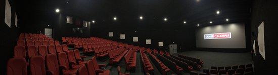 Douala, Kamerun: salle de cinéma CanalOlympia