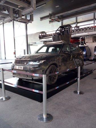 Gaislachkoglbahn: Jeep del film Spectre