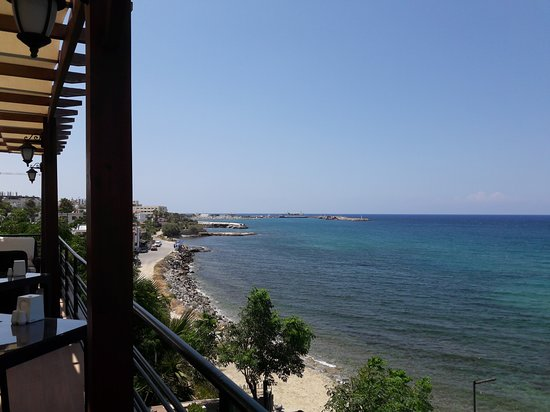 KYRENIA HARBOUR IN THE DISTANCE