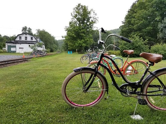Halcottsville, NY: bike rentals at Susan's Pleasant Pheasant Farm