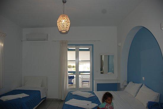 Coralli Beach Apartments: La camera