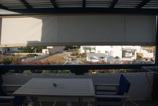 Coralli Beach Apartments: Bella terrazza