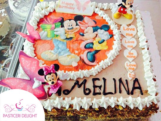 Pasticeri Delight Personalised Birthday Cake