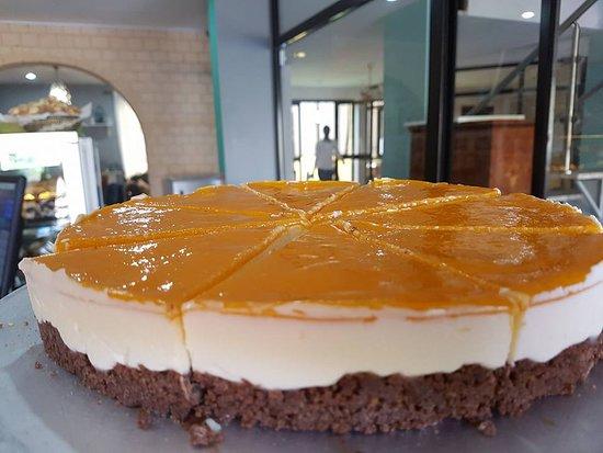 Ngor, Senegal: Mango Cheesecake