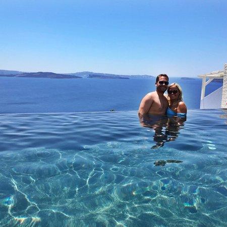 Most Perfect Santorini Accommodation!!