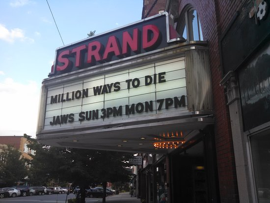 Clinton, MA: It's not summer without a showing of Jaws at the Strand