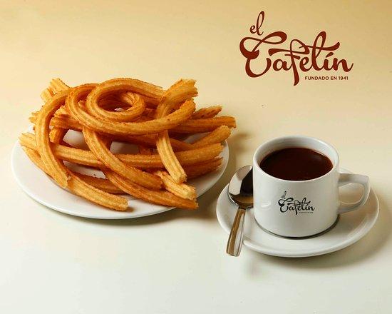 El Cafetín : Chocolate con churros