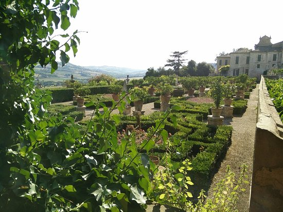 Potenza Picena, Italie : Giardino Bonaccorsi