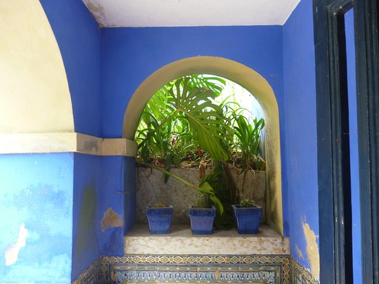 Palácio dos Marqueses de Fronteira: patio