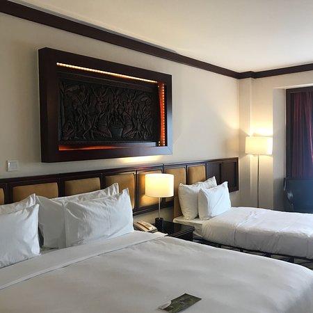 Fint hotell men ojämn service