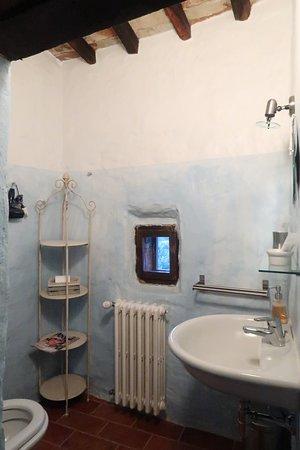 Farnetella, Italia: one of the bathrooms- charming
