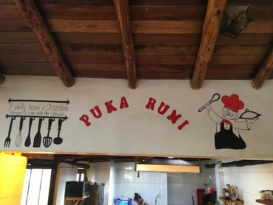Puka Rumi: Inside the restaurant