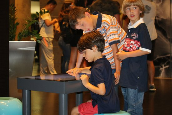 Hotel Aromar: kids can entertain themselves here for hours while you check in or are waiting in the lobby