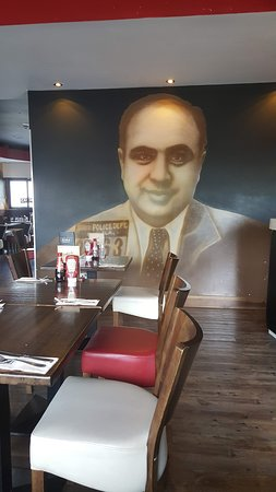 Capones Restaurant & Take away: Capone's - The Man Himself.