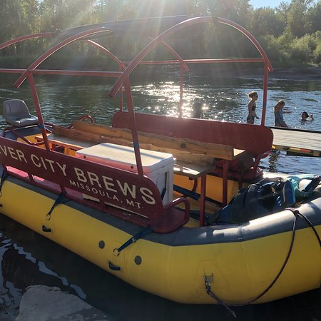 Missoula, Μοντάνα: These are pics from our evening float with River City Brews. We saw a lot of Montana wildlife!