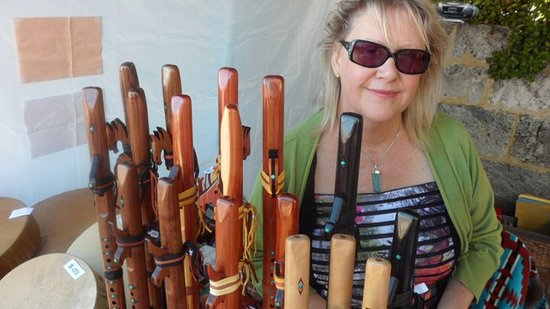 Denmark, Australia: We have a beautiful range of Native American Flutes to soothe the soul