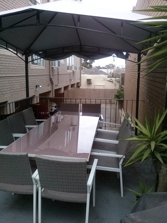 Apartments on Flemington: BBQ Area