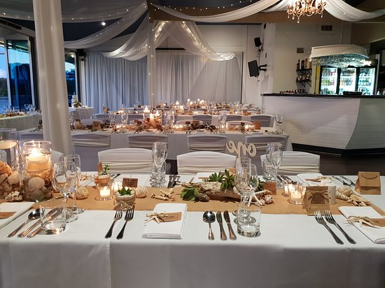 Rustic Wedding Setup Photo De River Deck Restaurant
