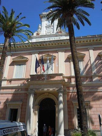 Hotel de ville d'Ajaccio