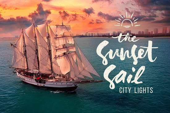 Sunset Sail City Lights Singapore...