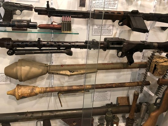 German Weapons from WW2 - Picture of Indiana Military Museum