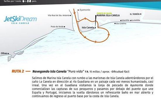 Ruta Pura Vida, navegando Isla Canela