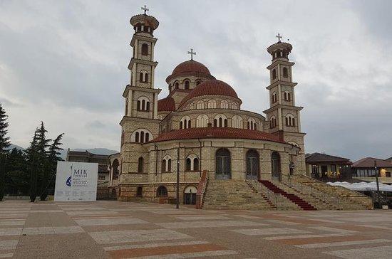 Pogradec, Korcha und Pustec aus Ohrid