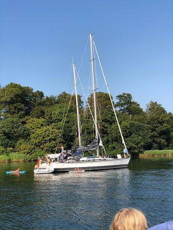 Middelfart, Dänemark: En fed båd vi så på turen