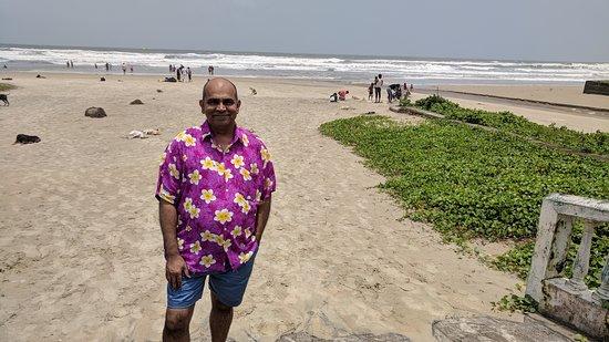 Varca Beach: Varca Beach during monsoon