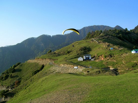 Bir, India: Paragliding Take Off Site