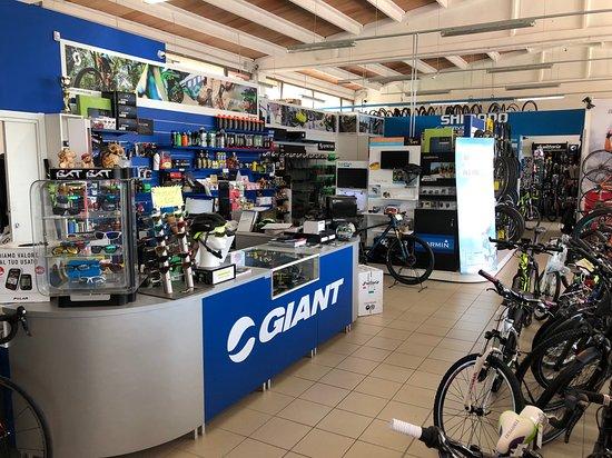 Sant'Elia Fiumerapido, Italia: Centro vendita, noleggio ed assistenza bike, ebike.