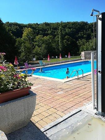 Le Change, Frankrike: Piscine estivale , bassin 4mX14m, ouvert juillet et aout