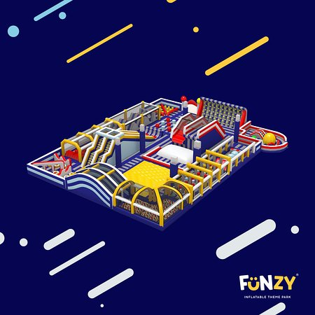 Funzy Inflatable Theme Park