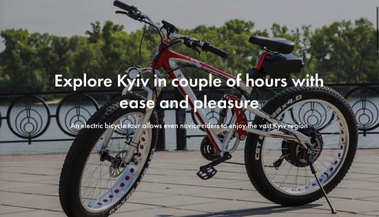 Electric Bike Kyiv Tours